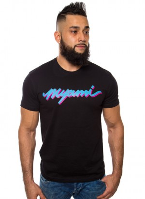 Myami-black-color-men-t-shirt